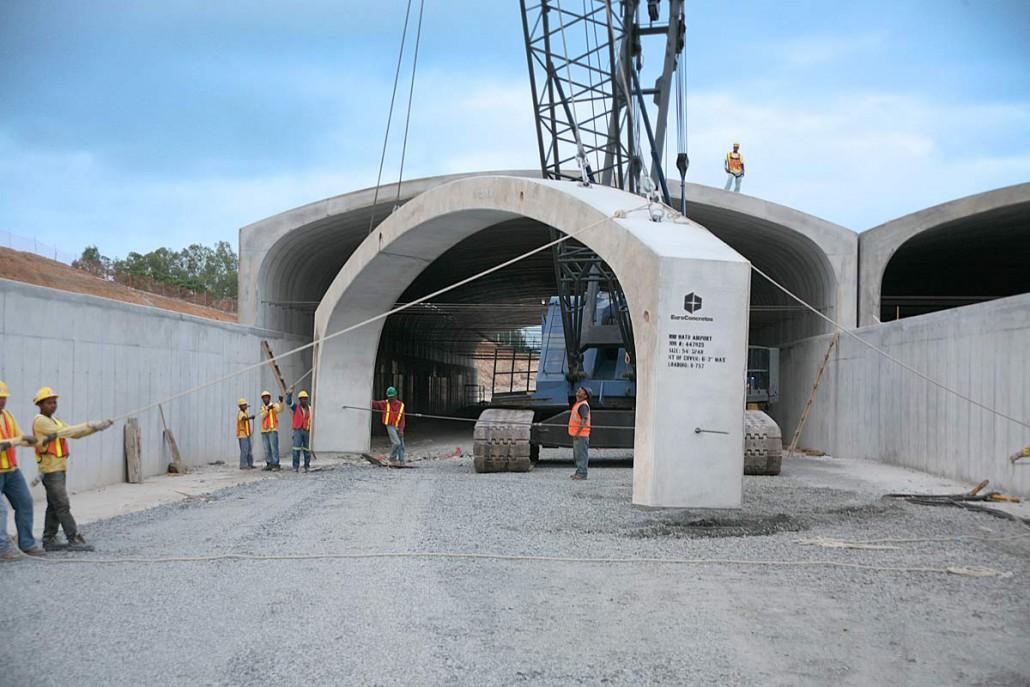 Euroconcretos Precast Arches